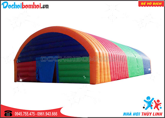 Nhà Bơm Hơi Mái Sắc Màu 2020 KT 15m x 12m x 6m