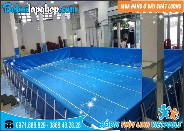 bể bơi di động lắp ghép tại Nghệ An