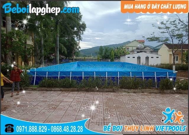 bể bơi lắp ghép thông minh tại Nghệ An