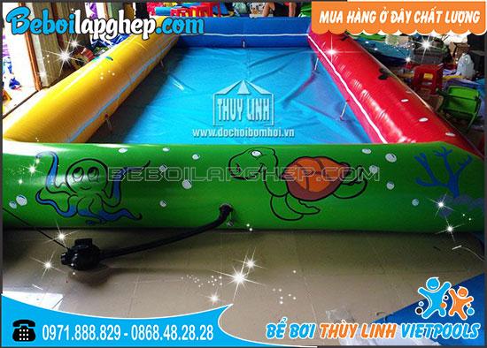 Bể Bơi Bơm Hơi Thùy Linh 2m x 3m x 0.3m