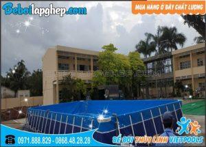 bể bơi lắp ghép tại Nghệ An