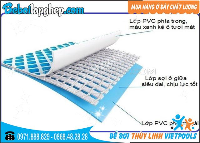 bạt nhựa PVC 5 lớp