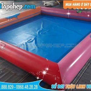 bể bơi bơm hơi sắc màu