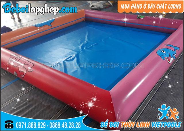 Bể Bơi Bơm Hơi Cho Bé 2m x 2m x 0.3m