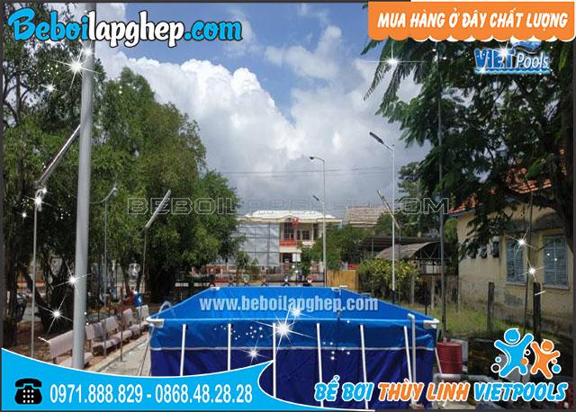 Bể Bơi Di Động Lắp Ghép 6,6m x 11,1m