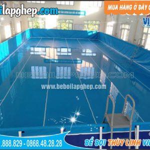 bể bơi bạt lắp ghép tại Phú Xuyên