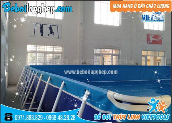 bể bơi bạt lắp ghép