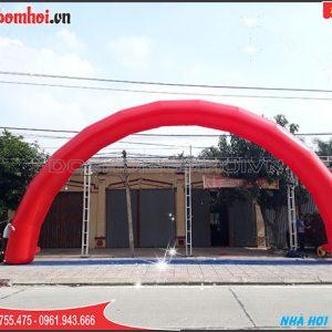 cổng tròn bơm hơi 15m - đk 1m