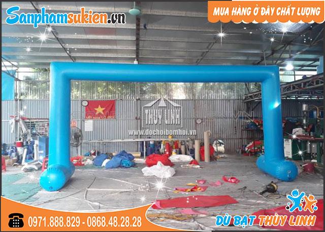 Cổng Hơi Tự Đứng 5m x 3m