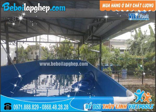 bể bơi di động lắp ghép