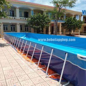 Bể Bơi Lắp Ghép Dạy Bơi Trường Học 5,1m x 18,6m 3
