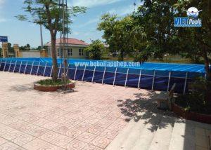 bể bơi lắp ghép dạy bơi