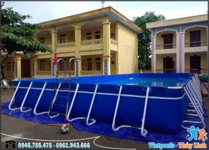 bể bơi di động lắp ghép Vietpools