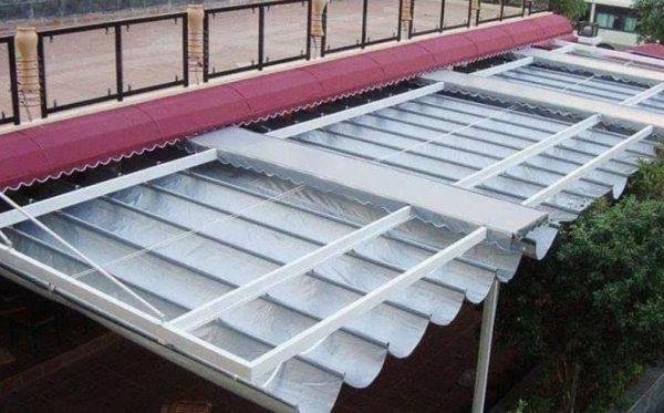 Bạt nhựa PVC 0.38mm Taya - Bạt mái xếp, bạt mái hiên 1