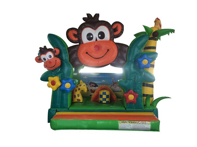 Nhà Hơi Mini Khỉ Nhí Nhố 3,5m x 3,5m