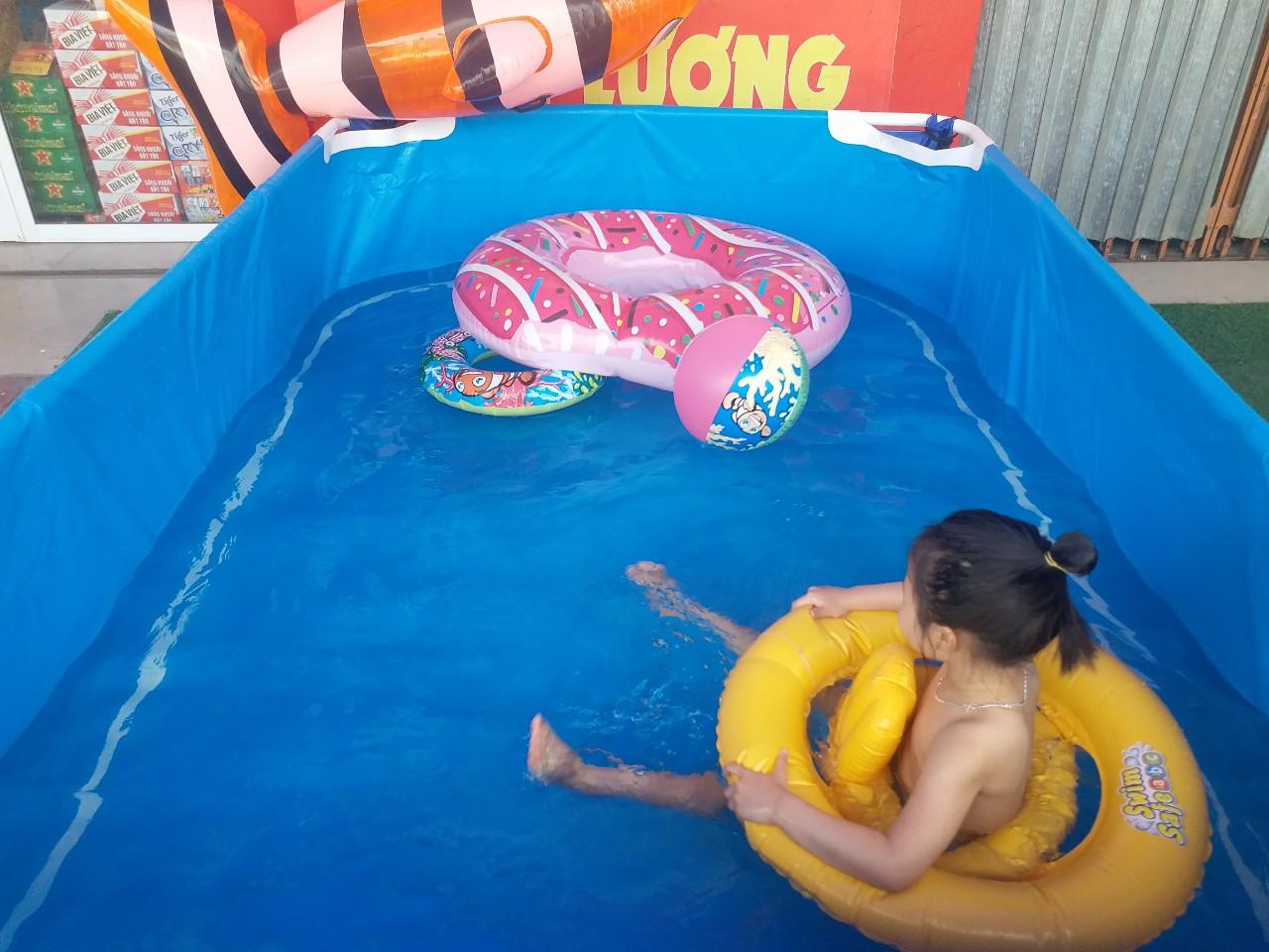 Bể Bơi Mini Gia Đình Giá Rẻ, Free Ship 100% 3