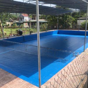 3 Ưu Điểm Của Bể Bơi Lót Bạt PVC 8
