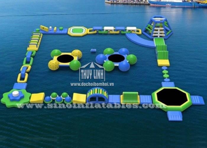 Khu Vui Chơi Bơm Hơi Dưới Nước 28m x 25m