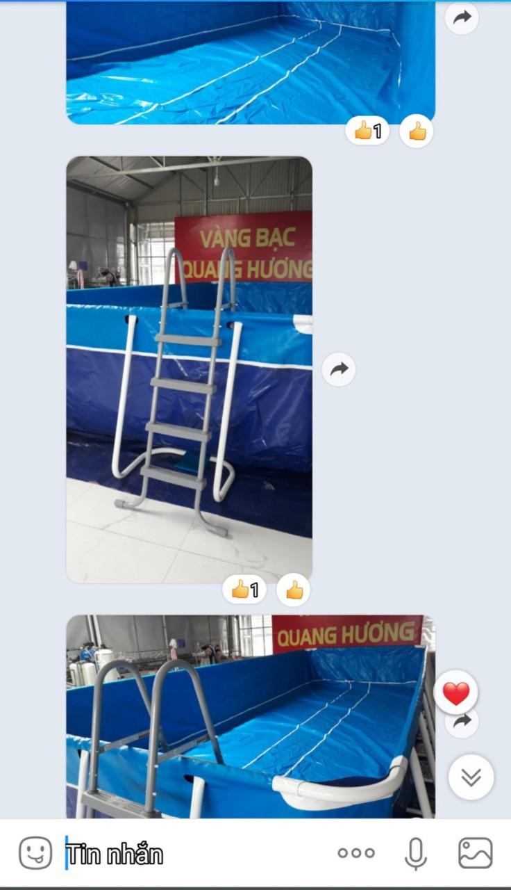 Bể Bơi Mini Gia Đình Giá Rẻ, Free Ship 100% 8
