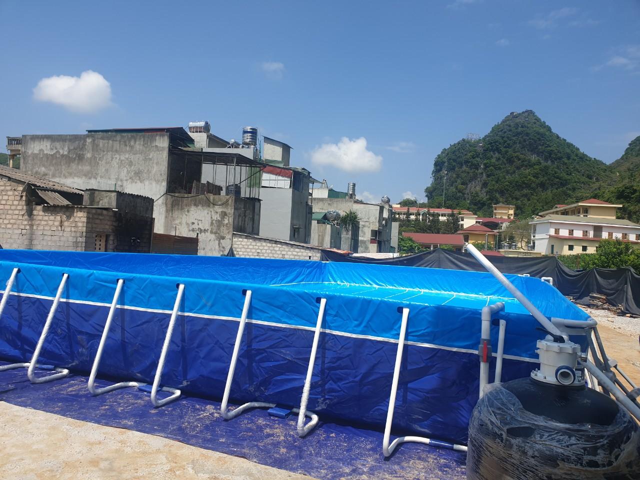 Hồ Bơi Dạy Bơi 9,6m x 20,1m 14