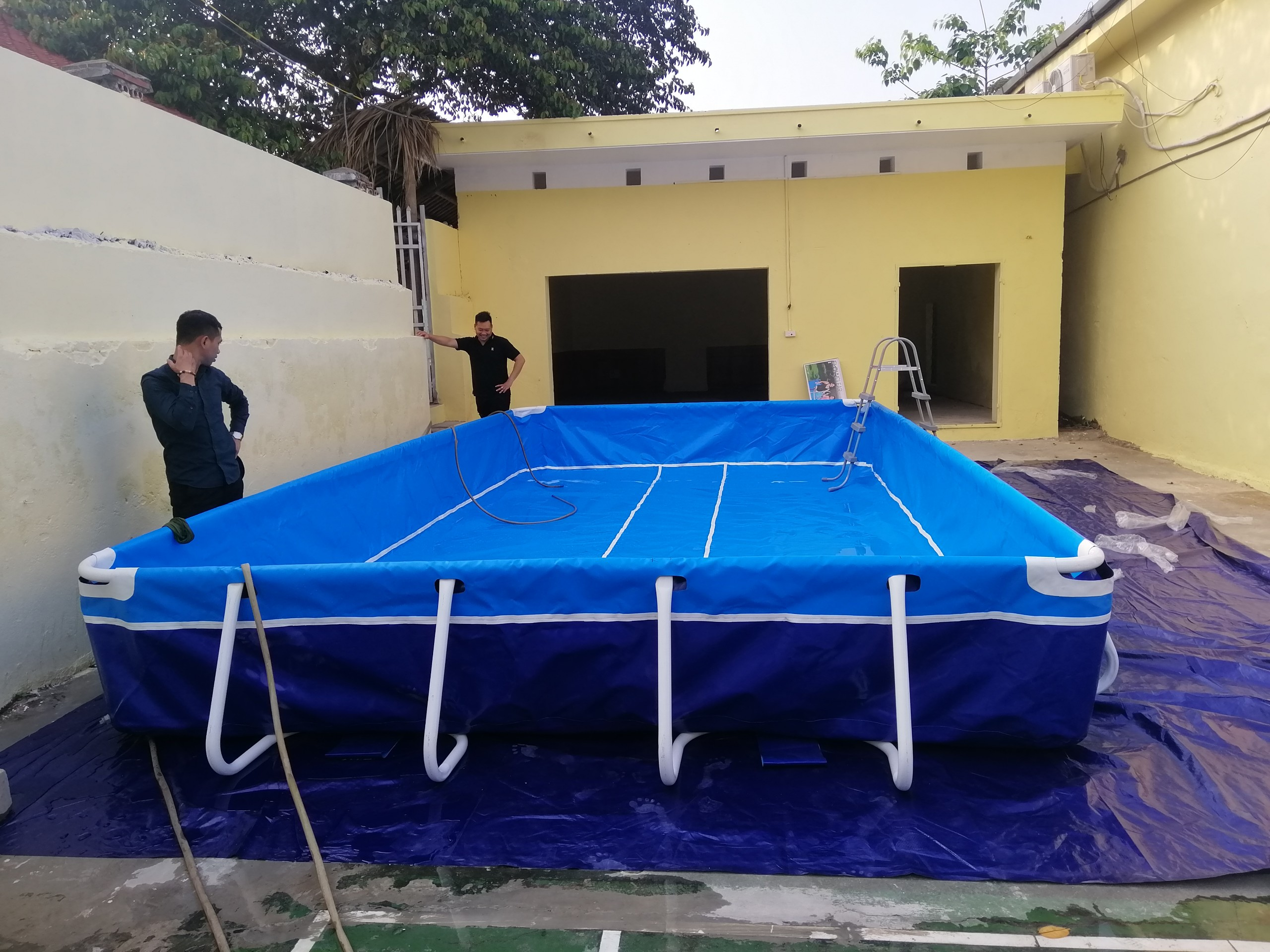 Bể Bơi Di Động Lắp Ghép Tại Cao Bằng Hoạt Động Từ 2019 Đến Này 12