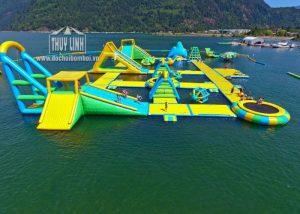 khu vui chơi liên hoàn dưới nước đẹp