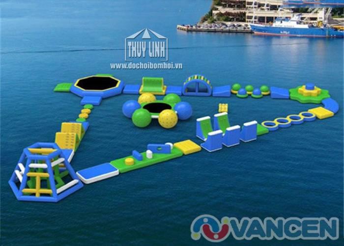 Công Viên Bơm Hơi Dưới Nước 30m x 20m