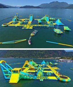 khu vui chơi liên hoàn trên nước