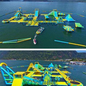 khu vui chơi liên hoàn dưới nước