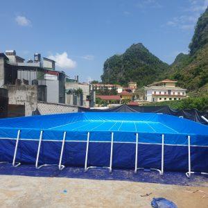 Hồ Bơi Dạy Bơi 9,6m x 20,1m 7