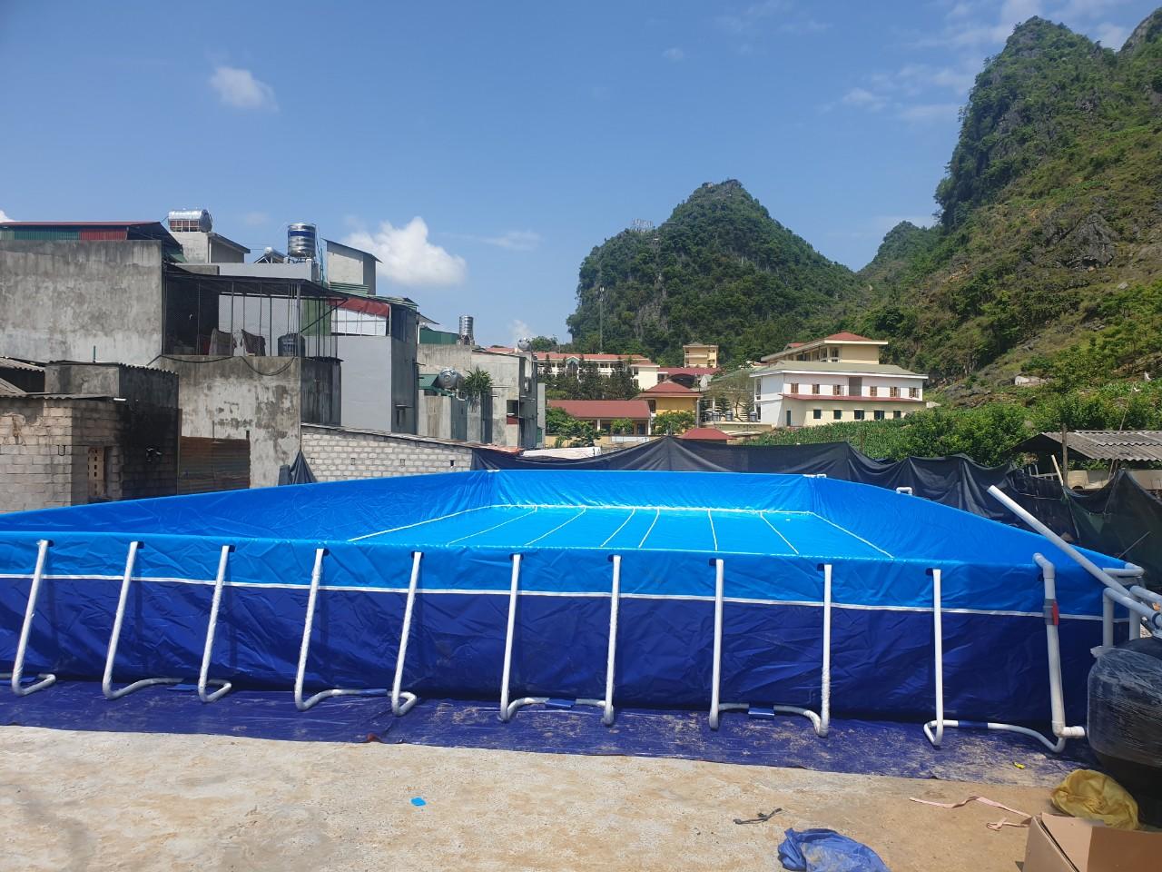 Hồ Bơi Dạy Bơi 9,6m x 20,1m 15