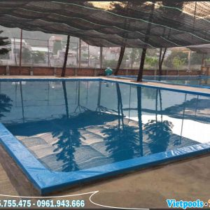 3 Ưu Điểm Của Bể Bơi Lót Bạt PVC 6