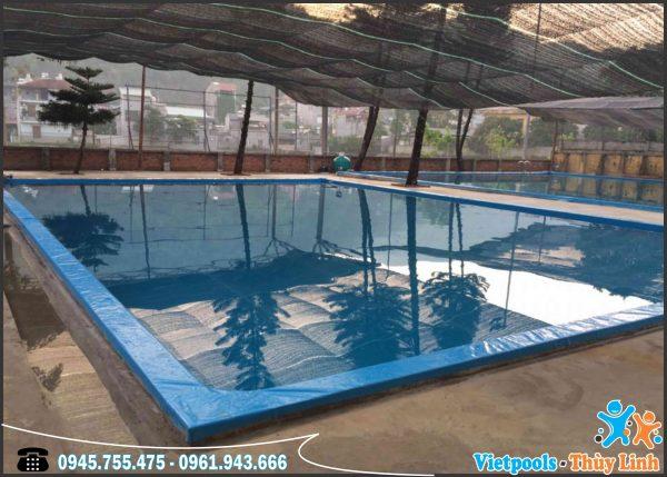 3 Ưu Điểm Của Bể Bơi Lót Bạt PVC 1