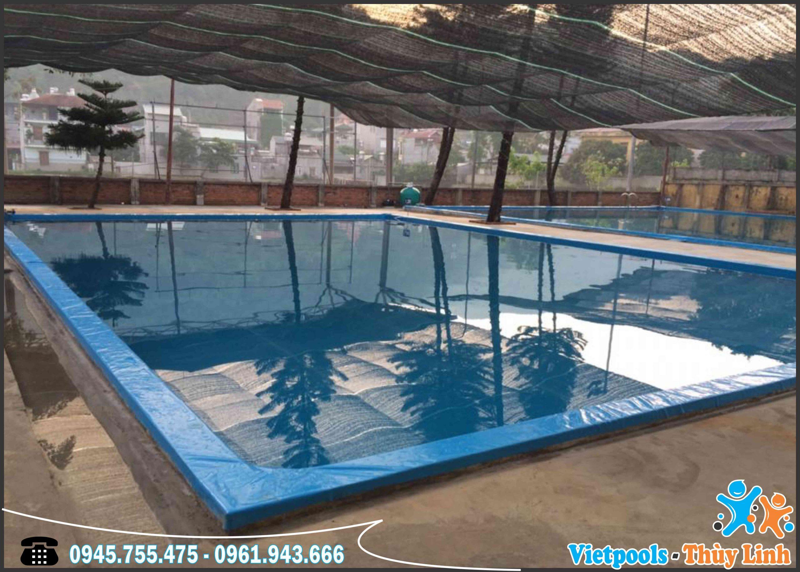3 Ưu Điểm Của Bể Bơi Lót Bạt PVC