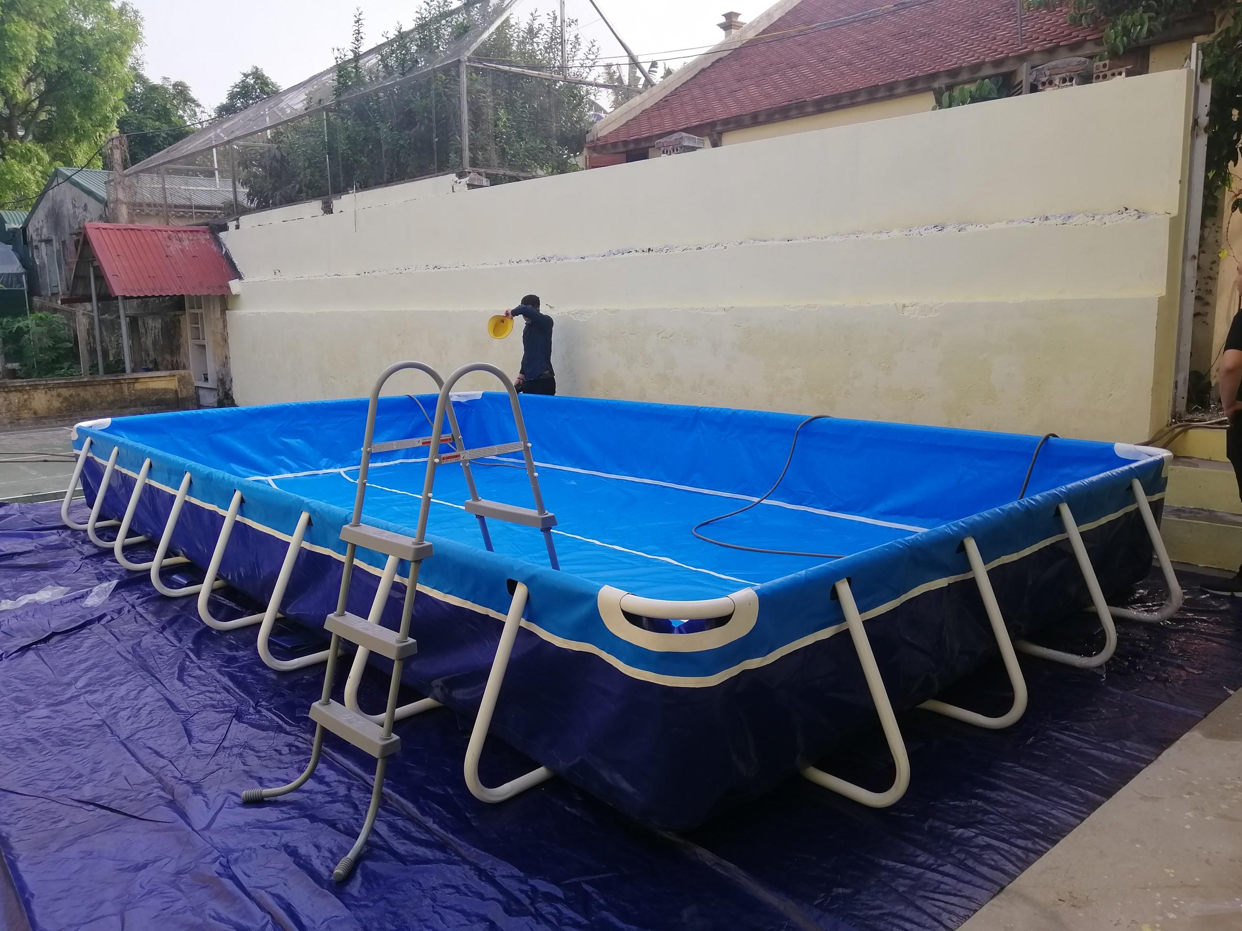 Bể Bơi Di Động Lắp Ghép Tại Cao Bằng Hoạt Động Từ 2019 Đến Này 13