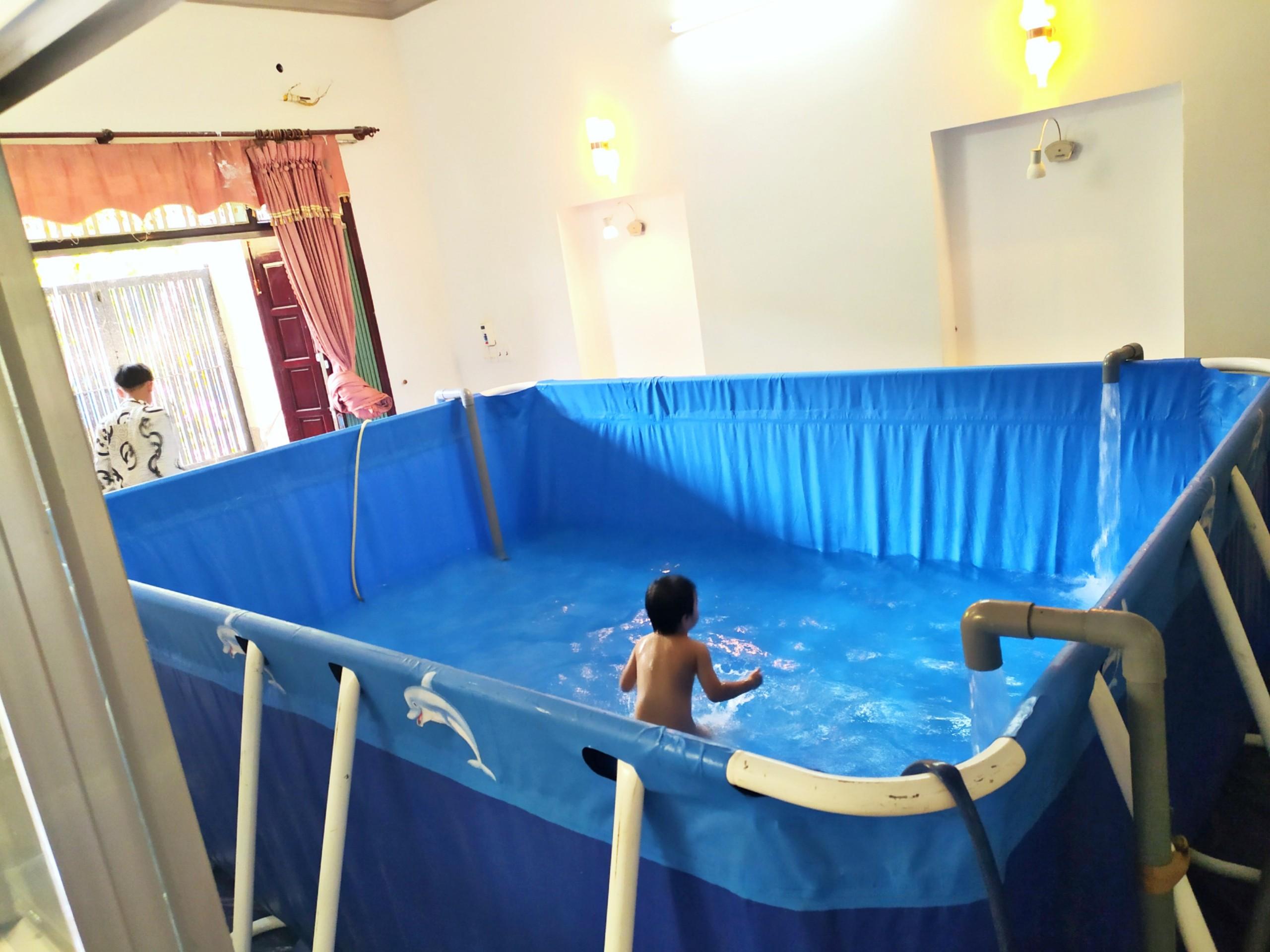 Bể Bơi Mini Gia Đình Giá Rẻ, Free Ship 100% 14