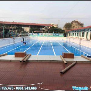 3 Ưu Điểm Của Bể Bơi Lót Bạt PVC 7