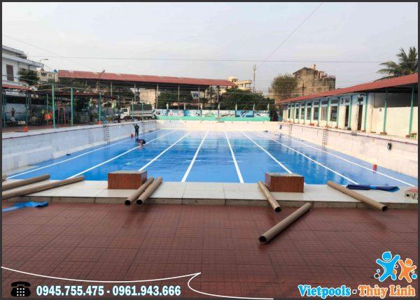 3 Ưu Điểm Của Bể Bơi Lót Bạt PVC 3