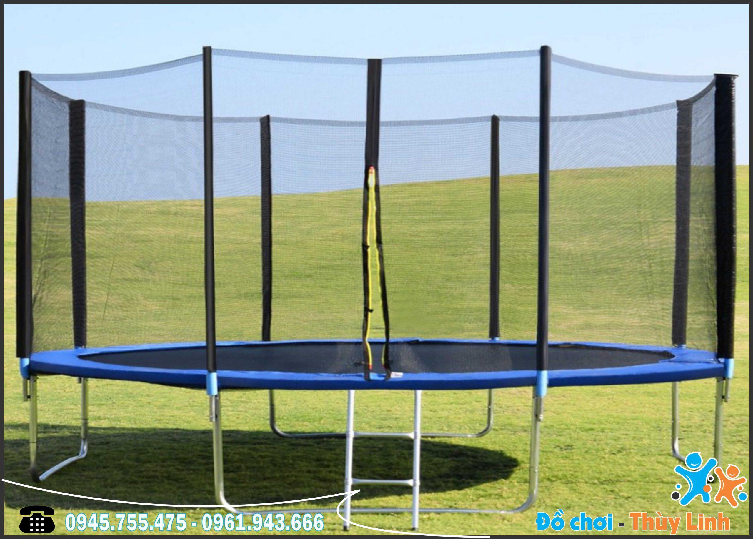 Sàn Nhún Trampoline ĐK 3m – Mẫu Đang Được Ưa Chuộng