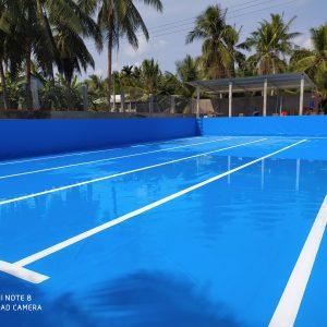 3 Ưu Điểm Của Bể Bơi Lót Bạt PVC 9