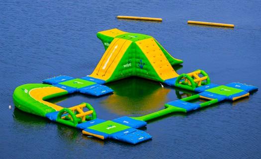 Công Viên Bơm Hơi Dưới Nước 18m x 15m