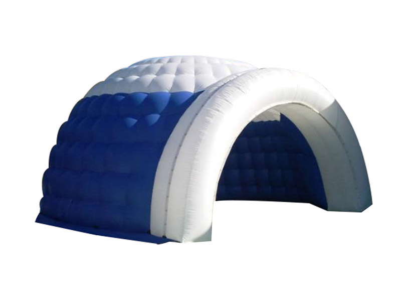 Nhà Lều Bơm Hơi Mái Vòm 8m x 8m x 4,5m