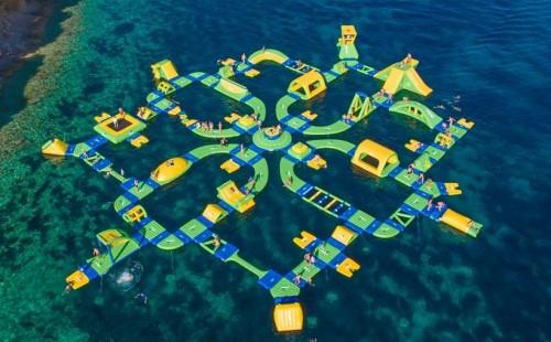 Khu Vui Chơi Bơm Hơi Dưới Nước 58m x 52m