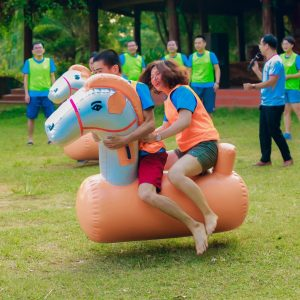 Ngựa Bơm Hơi Chơi Teambuiding Mẫu Mới 2020 9