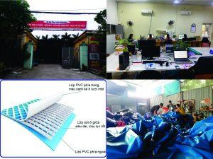 Nhà Hơi Mái Vòm Thuỳ Linh 2020 KT 8m x 4.5m 1