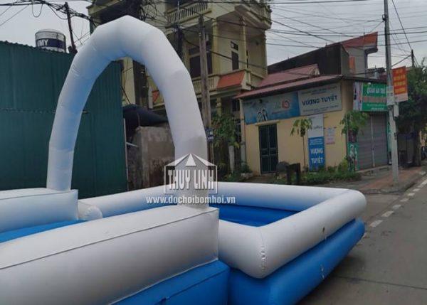 nhà phao trượt nước clear