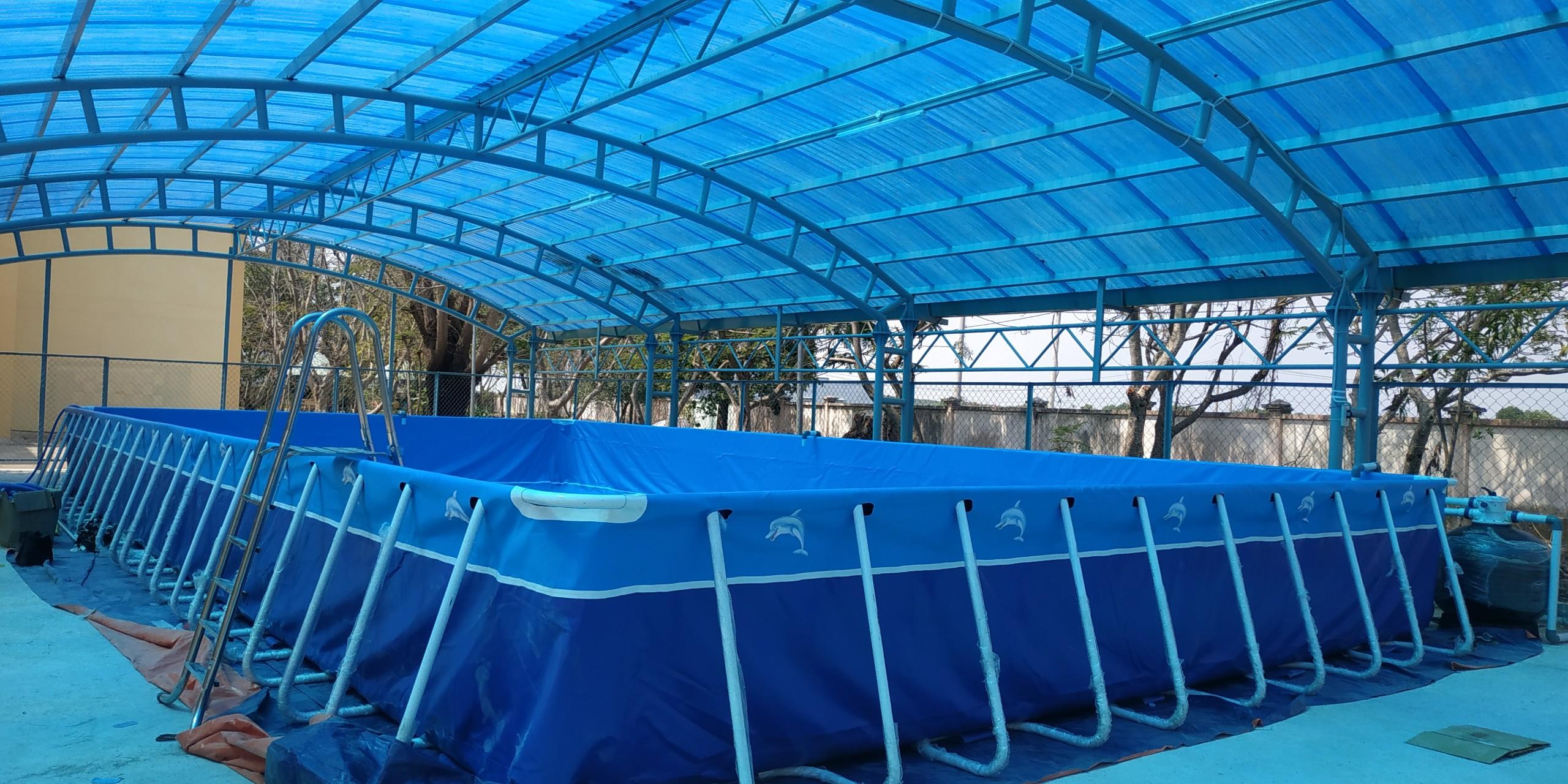 Bể Bơi Di Động Lắp Ghép Tại Cao Bằng Hoạt Động Từ 2019 Đến Này 19