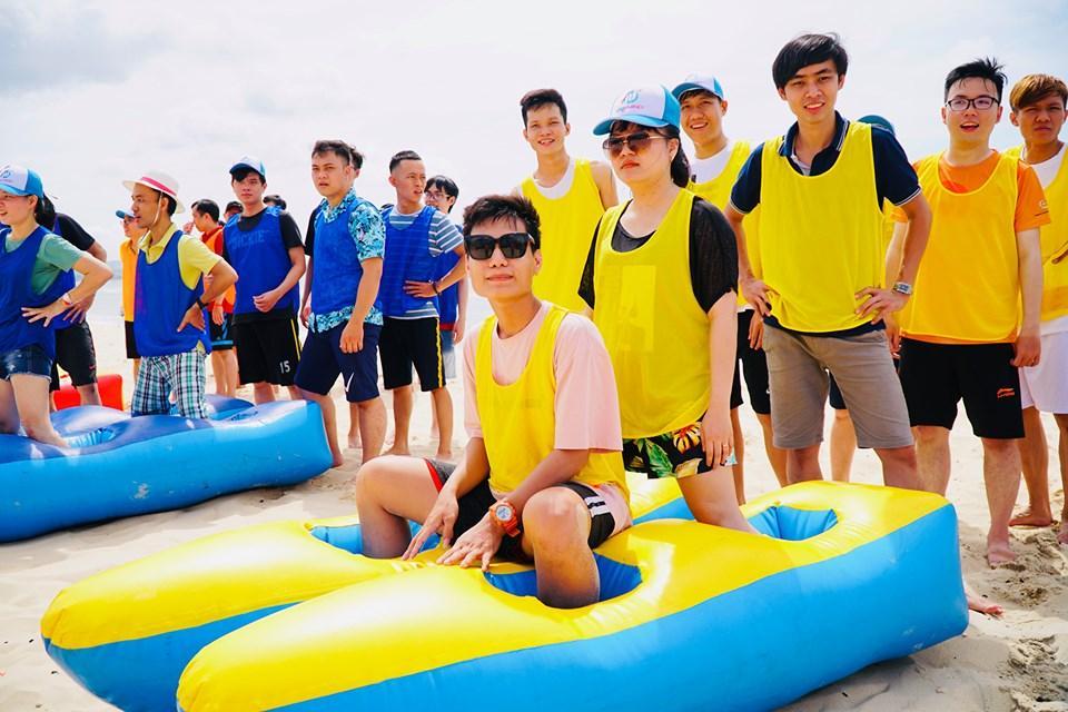 Đồ Hơi Chơi Team Trên Bờ Biển 6