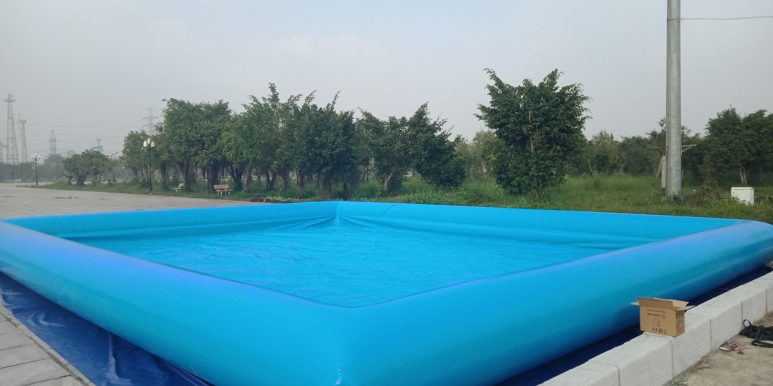 Hồ Phao Bơm Hơi Đẹp 5m x 5m