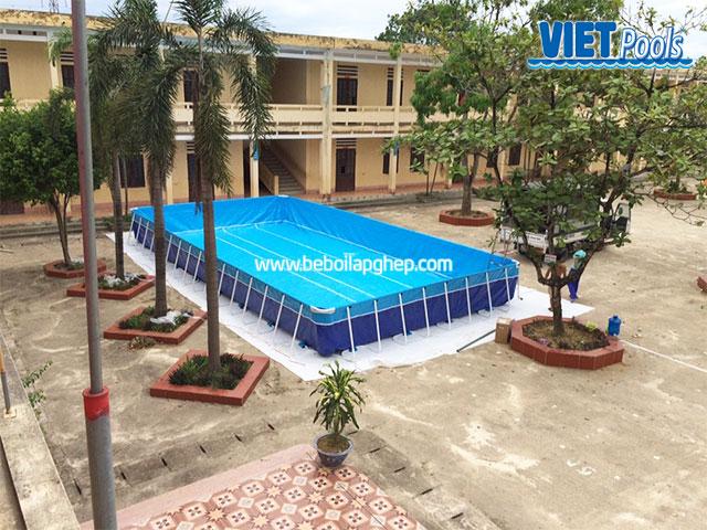 Bể Bơi Trường Học Tại Trường Tiểu Học 8,1m x 17,1m